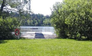 Schnaitsee Seebad am Weitsee
