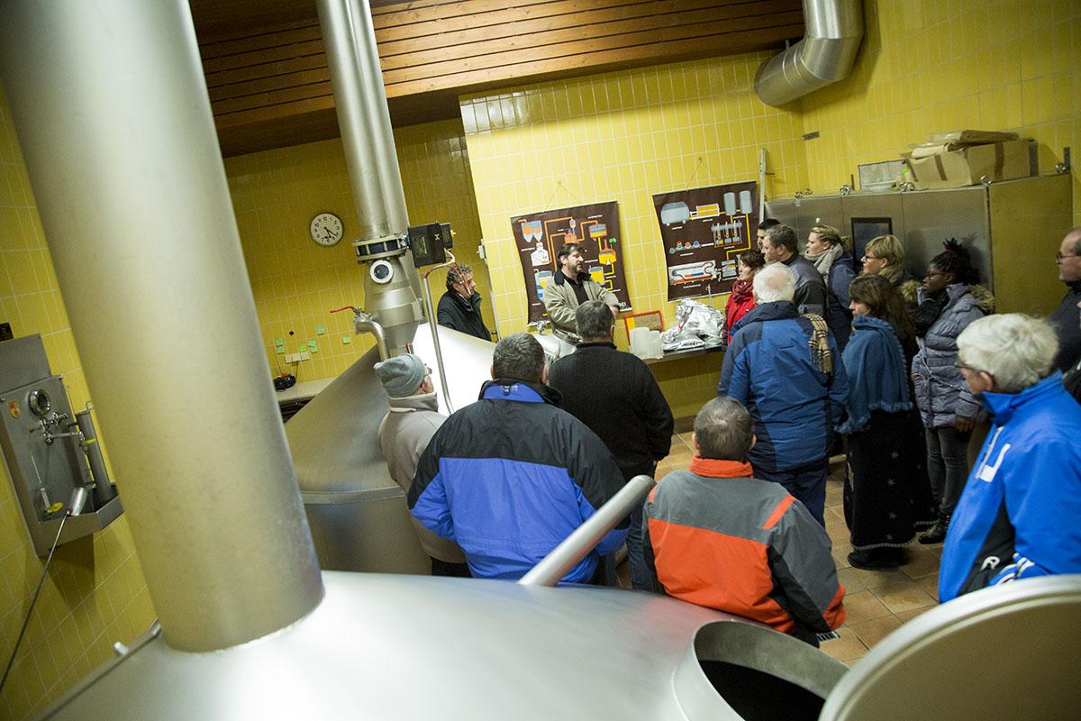 Brauereiführung in der Klosterbrauerei Baumburg